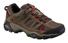 Columbia Men's North Plains Waterproof Trail Shoe: Feet stay comfortable and dry in this breathable hiking shoe from Columbia. Trekking Shoes, Hiking Shoes, Best Running Shoes, Trail Running Shoes, Blue Adidas, Adidas Men, Waterproof Headphones, Columbia Shoes, Trail Shoes