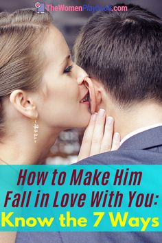 """Has your man uttered the """"L"""" word yet? Learn the 7 ways on how to make him fall in love with you. #howtomakehimfallforyou #howtomakehimfallinlove #howtomakehimfallinlovewithyou Marriage Relationship, Marriage Advice, Dating Advice, Toxic Relationships, Healthy Relationships, Romance Tips, Finding Love, Man In Love, Parenting Hacks"""