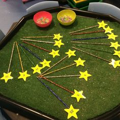 EYFS It's a kind of magic theme - Maths Provision: Magic wand counting EYFS Fireworks Design, Fireworks Art, 4th Of July Fireworks, Bonfire Night Activities, Bonfire Night Crafts, How To Draw Fireworks, Fireworks Craft For Kids, Maths Eyfs, Eyfs Activities