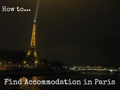 How to find accommodation in Paris Year Abroad Fortnight | Todd's Travels