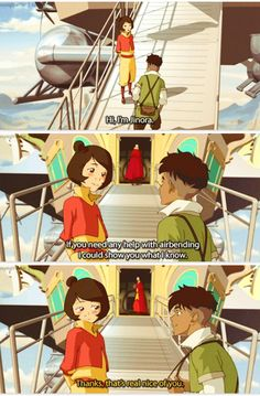 Legend of Korra: jinora and Kai! The shipping is real!!