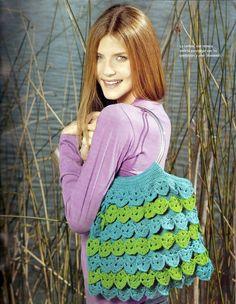 View album on Yandex. Beau Crochet, Love Crochet, Beautiful Crochet, Crochet Handbags, Crochet Purses, Crochet Bags, Confection Au Crochet, Unique Bags, Knitted Bags