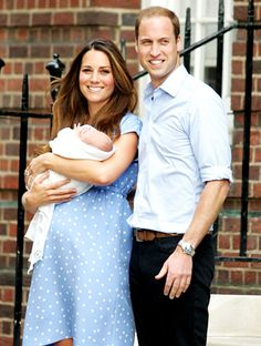 Kate Middleton and little prince george