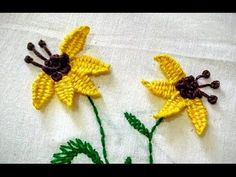 In This Video We Will Show You Hand Embroidery Carnation Flower and Romanian…