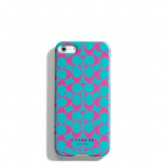 Coach iPhone 5 cover. Yes, please!