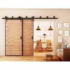 The Doors, Wood Doors, Sliding Doors, Sliding Wall, Entry Doors, Bypass Barn Door Hardware, Inside Doors, Double Barn Doors, Interior Barn Doors