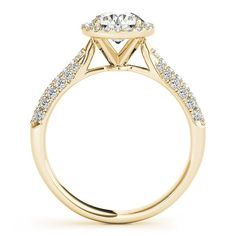 Engagement Ring 1ct diamond engagement ring by GopalsJewelry