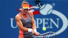 Through to the quarters ... Sam Stosur was pushed against Laura Robson.US Open '12.