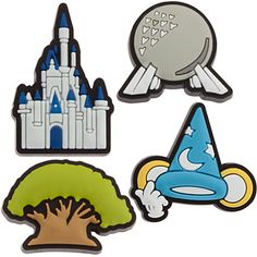 Walt Disney World Icons MagicBandits Set, Item No. 7501055880378P