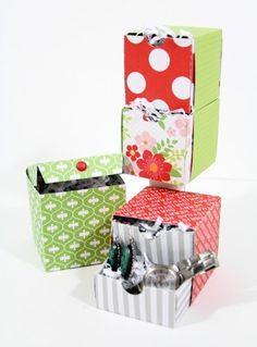 12 Days of Gift Wrap: Day Three - Chickaniddy Crafts Heidi Sonboul