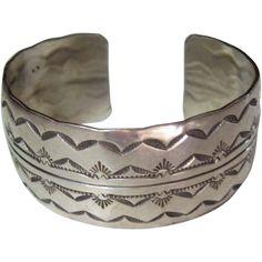 Haida bracelet vintage sterling