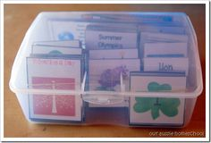 Our Aussie Homeschool: Pocket Chart Calendar Printables-TONS, FREE!