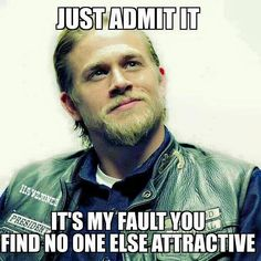 It's your fault Charlie Hunnam!