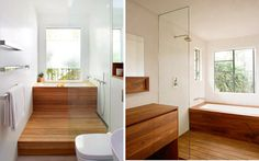 Duchas modernas para la decoración del baño