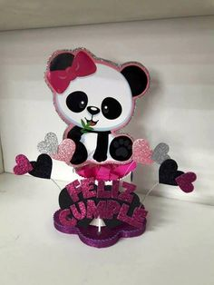 54 ideas for baby shower ideas for girs diy purple party favors Panda Themed Party, Panda Birthday Party, Panda Party, Panda Decorations, Birthday Decorations, Baby Shower Decorations, Purple Party Favors, Panda Baby Showers, Baby Shower Backdrop