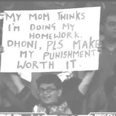 Dhoni Dhoni Dhoni...