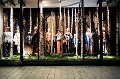 Autumn window display 2012