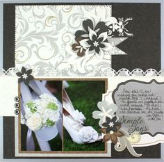 #scrapbooking -- I know this palette is designed primarily for wedding scrapbooks, but I like it so much that I can think of lots of other ways to use it!