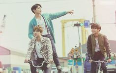 Jin, Jhope & Jungkook #RUN 아드레