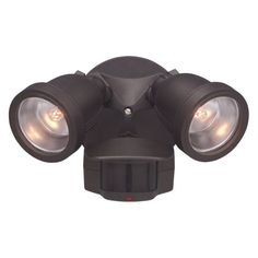 Designers Fountain Outdoor PH218S Area and Security 180 Degree Motion Detector Light - PH218S-