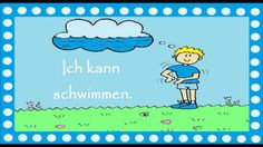 Deutsch lernen: 17 einfache Verben im Kontext (für Kinder & für Große) +traduction / перевод