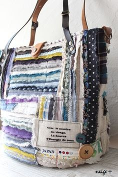 Nice idea with fabric scraps!