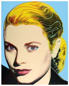 Andy-Warhol-Grace-Kelly - DAILYBEST