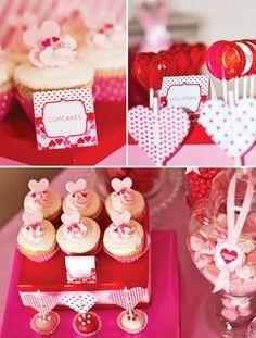 cupcakes muy rosados