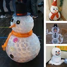 Výsledek obrázku pro sněhulák z kelímku