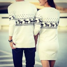 Matching boyfriend/girlfriend sweaters | Muah's style | Pinterest ...