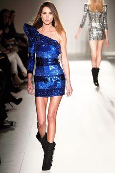 Balmain Fall 2009 Ready-to-Wear Fashion Show - Erin Wasson