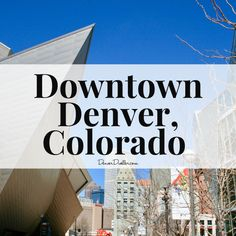 Whether you want to take beautiful photography or discover Denver at night, this board is full of downtown Denver Colorado tips. Denver is full of amazing restaurants, great hotels and unique bars. What will you discover?