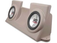 MTX ThunderForm Subwoofer Enclosure TAN for FORD F150 Regular Cab Pickup 19972003 LOADED w 210 Subs FRP20TT45 >>> You can get additional details at the image link. (Note:Amazon affiliate link)