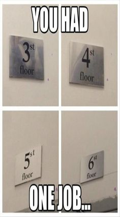 I bet a lot of people get in fights on the 5st floor.  *lifts out of chair* my people need me T_< <<< XD