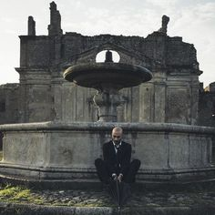 The #ghosttown of old Monterano whose ruins are redolent with history. So much so that many film directors have chosen it for location shots.