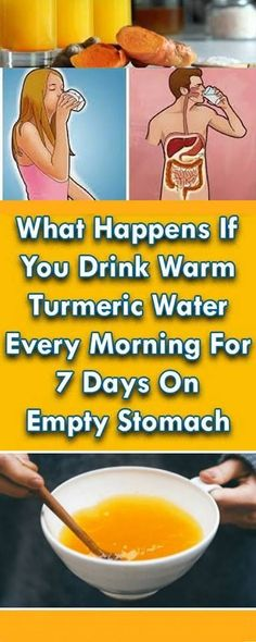 THIS IS WHAT HAPPENS TO YOUR LIVER AND YOUR BRAIN WHEN YOU DRINK BOILED TURMERIC WATER!