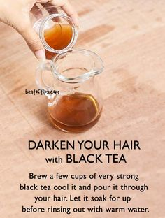 Black tea contains 'tannin' that helps impart colour. That is why it is beneficial for darkening the hair in a natural way. Whether you use it as a leave-in treatment or as a hair rinse […] Source by dps Eyebrows, Eyeliner, Leave In, Black Tea For Hair, Black Hair, Cellulite, Natural Hair Care, Natural Hair Styles, Natural Makeup