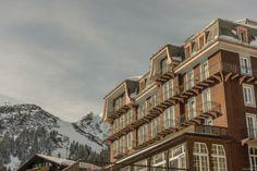 #Mürren, Berner Oberland   Historisches, einfaches Hotel mit toller Aussicht und neben den Skipisten