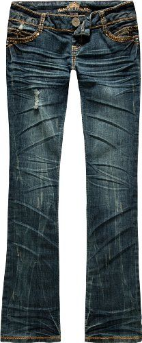 ALMOST FAMOUS Studded Womens Bootcut Jeans