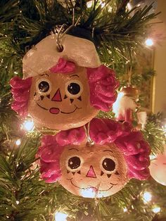 Salt dough ornaments ... we have two of these that have been in our decoration box my whole life!