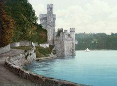Ирландия в 1890-х: красоты Изумрудного острова в ярких открытках.  Замок Блэкрок в графстве Корк