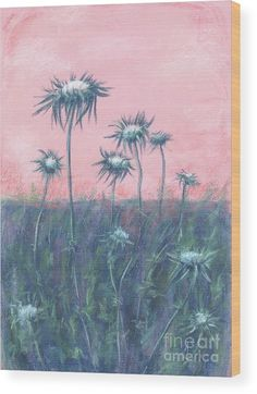 a998a51aa7 The Ode To Burdock Wood Print by Alla Gorelik