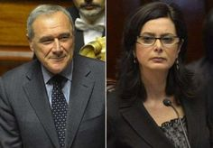 Government: This is Laura Boldrini and Porto Grasso, who are both a huge part of Italy's Legislative Branch.