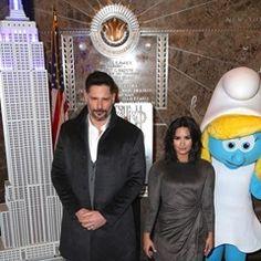 Joe Manganiello and Demi Lovato during visit The Empire State Building (329914)