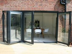Aluminium Bi-folding Doors | Folding Sliding Doors | Bifold Doors | Duration Windows