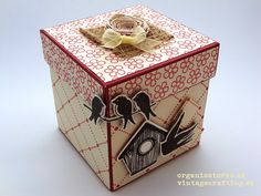 Recycled paper box ...