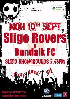 Sligo Rovers V Dundalk FC at Sligo Showgrounds. Soccer League, Upcoming Events, Festivals, Concerts, Festival Party
