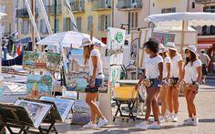Il porto di Saint Tropez