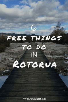 6 Free Things to do in Rotorua