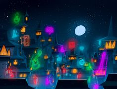 Background's research for Abraca - Witch level - on Behance